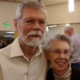 Suzie Brown and Bill Rogers