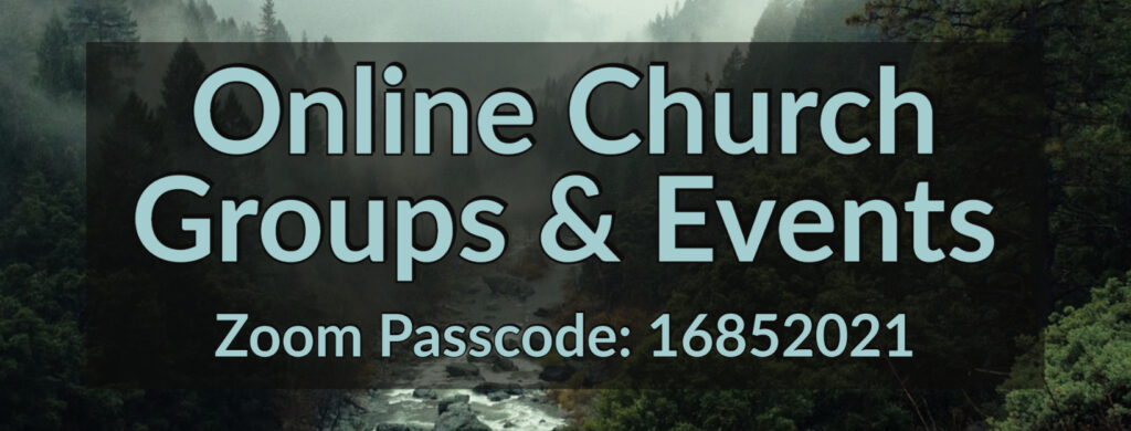 Online Church Groups and Events
